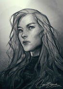 Aelin by Charlie Bowater, 03