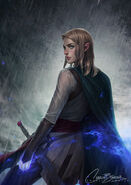 Aelin by Charlie Bowater, 02