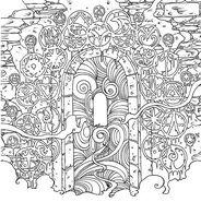 TOG Coloring Book - Wyrdmark Portal