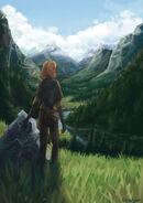 Aelin in Terrasen by Taratjah