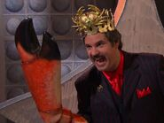 King Crab and his crab claw