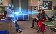 Phoebe Freezes Teacher