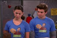 Max and Phoebe in Wong's Kitchen