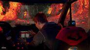 Thunder Van in a Volcano