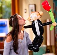 Phoebe And Balloon