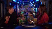 Thundermans Eating in Thunder Van