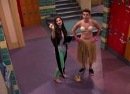 Phoebe and Max in Bra