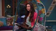 Phoebe in her bedroom