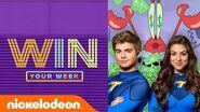 Kira Kosarin & Jack Griffo Read Fan Comments, SLIME!, SpongeBob Challenges, & More! WinYourWeek