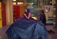 Phoebe Sleeping in School