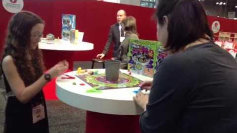 Pressman The Trash Pack Flip and Filth Game Toy fair 2013