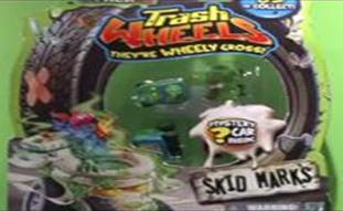Trash Wheels 4 Pack