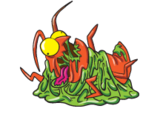 Squashed Roach