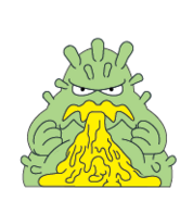Green Stomach Bug (Image By Moose Toys)