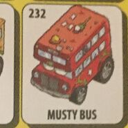 Musty Double-Decker Bus