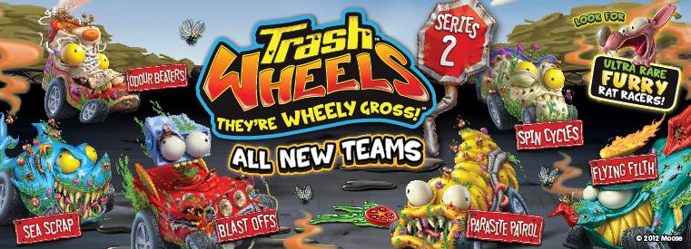 Trash Wheels Series 2