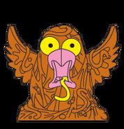 Brown Bird Spew (Image By Moose Toys)