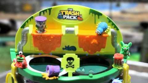 Trash Pack Scum Drum Commercial