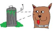 Rex the nasty garbage boy