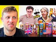 UK vs US Pringles!