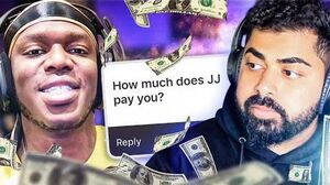 HOW MUCH DOES JJ PAY ME? ft KSI THE MOST HONEST Q&A