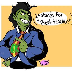 Great Teacher Borky fan art by @Ultraous.jpg