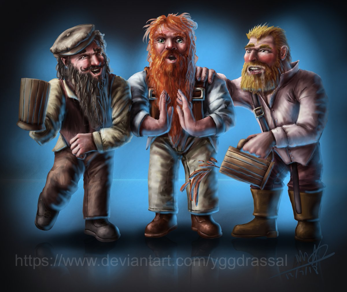The Three Drunk Dwarves