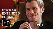 The Originals 1x03 Extended Promo - Tangled Up in Blue HD