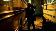 TVD 1X07 Stefan Elena look for Vicky at the school Stefan kills Vicky