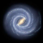 Milky Way Galaxy artwork