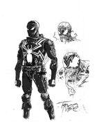 Tony Moore Original Agent Venom
