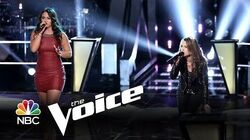 """Tess Boyer vs. Bria Kelly """"Piece of My Heart"""" (The Voice Highlight)"""