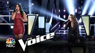 """Tess_Boyer_vs._Bria_Kelly_""""Piece_of_My_Heart""""_(The_Voice_Highlight)"""