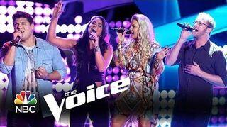 Tess_Boyer,_Josh_Murley,_Cali_Tucker_and_Austin_Ellis_Auditions_(The_Voice_Highlight)