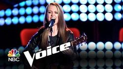 """Bria Kelly Audition """"Steamroller Blues"""" (The Voice Highlight)"""
