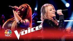 The Voice 2015 - Riley Biederer vs. Regina Love (Sneak Peek)