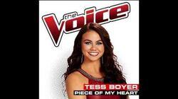Tess Boyer - Piece Of My Heart - Studio Version - The Voice USA 2014