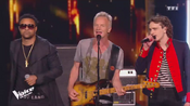 Xam Hurricanne en duo avec Sting et Shaggy