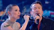 Anne Sila en duo avec Florent Pagny