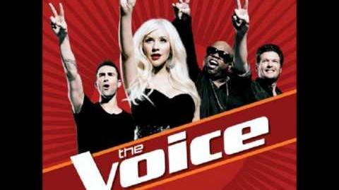 Christina Aguilera, Cee Lo, Adam & Blake - Crazy (The Voice)-0