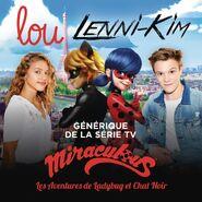 Lou Jean & Lenni-Kim Lalande Single Miraculous
