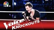 """The Voice 2015 Knockout - Keith Semple """"I Want to Know What Love Is"""""""