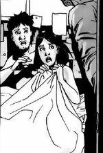 Glenn y Maggie siendo descubiertos por Hershel