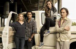 Fear The Walking Dead Promotional Cast