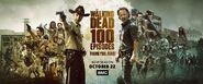 The Walking Dead-Banner 100 episode