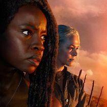 Carol-and-Michonne-Gurira-Season-10