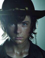 Carl en la temporada 5.