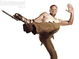 Merle en su atuendo característico de la Temporada 3.