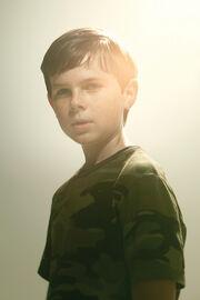 Carl durante la segunda temporada.