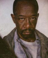 Morgan en su atuendo característico de la sexta temporada.